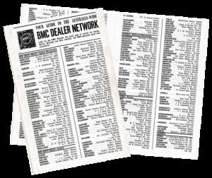 Dealer Network Brochure