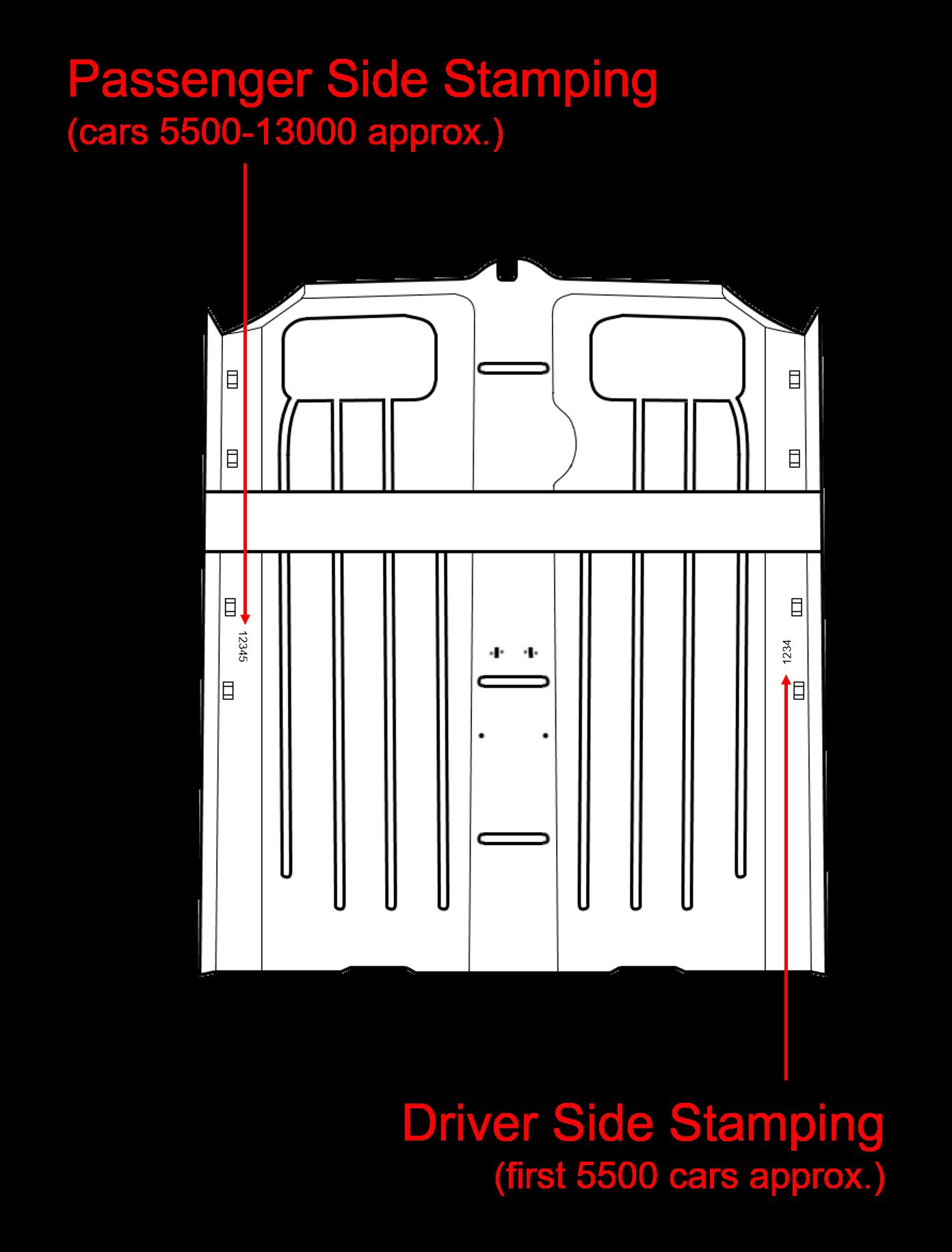 Car Number - Floor