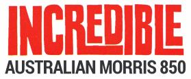 Australian Morris 850 Logo