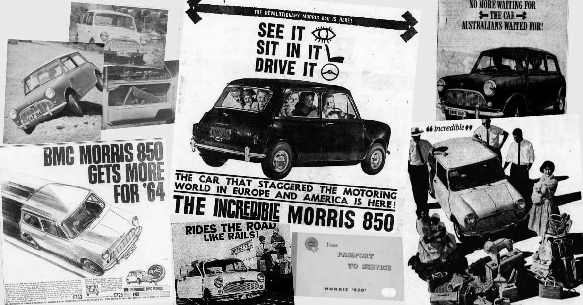 Many elements went into securing a Morris 850 sale.
