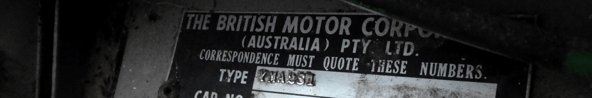 Australian Morris 850
